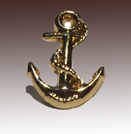 Ships Anchor Lapel Pin
