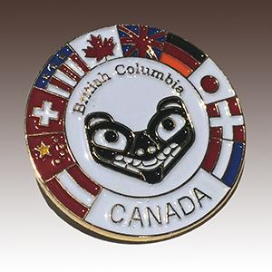 BC Canada Pin
