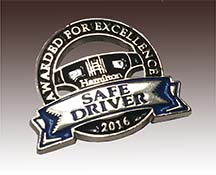 Safe Driving Recognition Pin