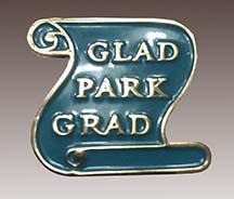 School graduation pin
